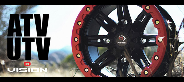 Vision UTV/ATV/Golf Wheels