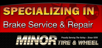 Specializing in brake service & repair